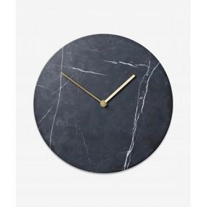 Nástenné mramorové okrúhle hodiny
