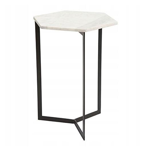 Konferenčný stolík z bieleho mramoru