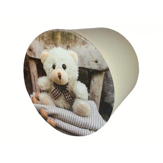 Kvalitná detská deka do kočíka s medvedíkom