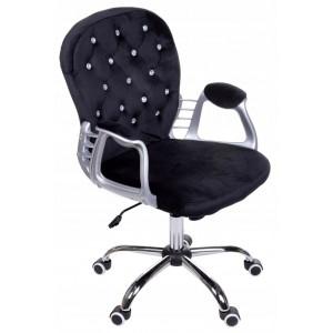 Kvalitné kancelárske kreslo v čiernej farbe