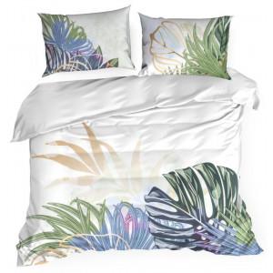 Jemné posteľné obliečky s prírodným vzorom