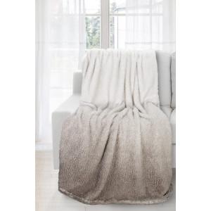 Ombré deka hnedej farby