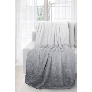 Ombré deka sivej grafitovej farby