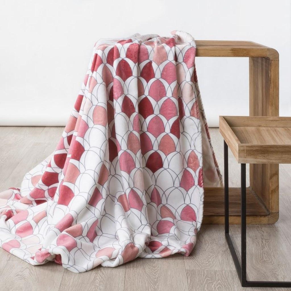 DomTextilu Moderná deka v krásných jesenných farbách 70 x 160 cm