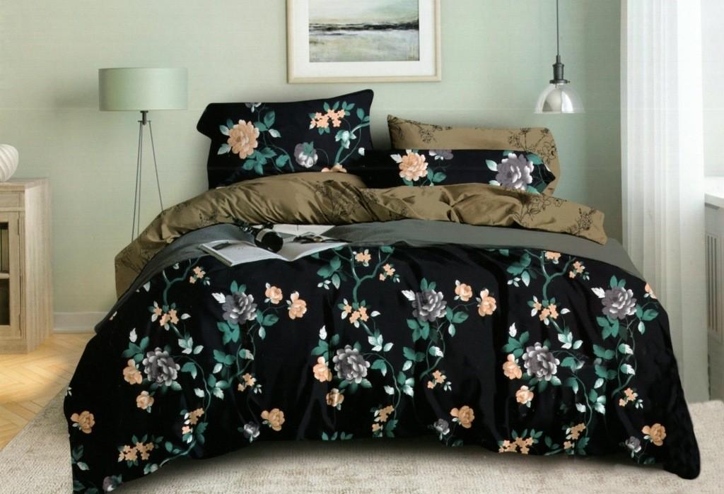 DomTextilu Obojstranné obliečky s kvetinovým motívom 140x200 cm 28765-155208