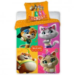 Detské posteĺné obliečky Cats