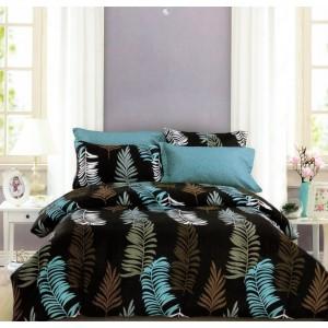 Štýlové posteľné obliečky s potlačou papradia