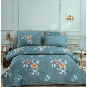 Elegantné posteľné obliečky v tyrkysovej farbe