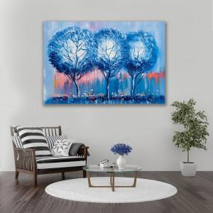 Obraz na plátne na stenu s motívom stromov