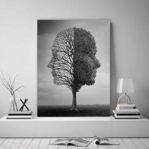 Kvalitný obraz na stenu s motívom stromu