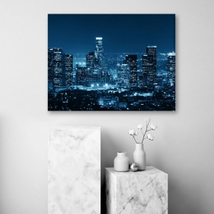 Nočné mesto obraz na stenu 80x60