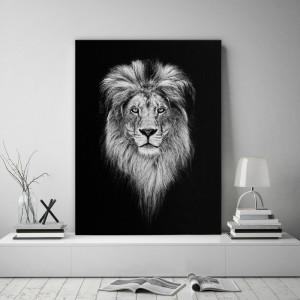 Kvalitný obraz na stenu s motívom leva