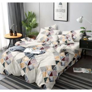 Štýlové posteľné obliečky s geometrickými tvarmi