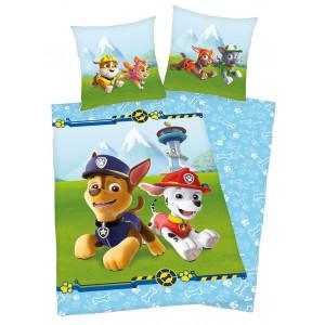 Kvalitné detské posteľné obliečky s rozprávkovými psíkmi