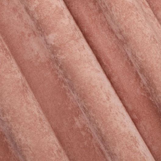 Zatemňovací záves na kruhy v tmavo ružovej farbe