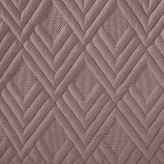 Moderný prehoz staroružovej  farby so vzorom
