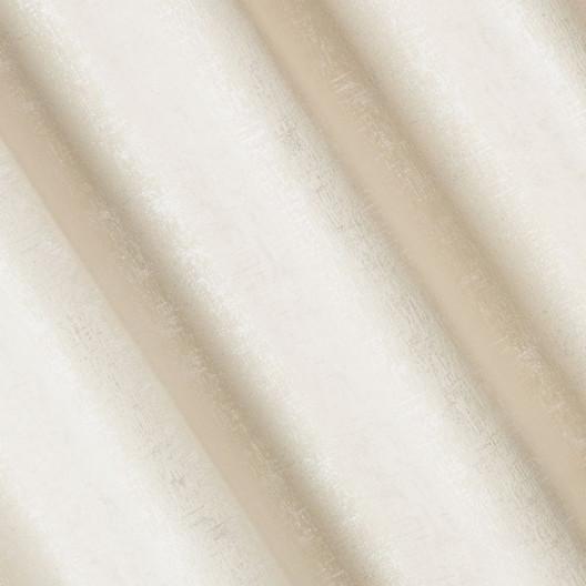 Luxusný zamatový záves v krémovej farbe
