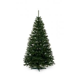 Vianočný stromček jedľa v zelenej farbe