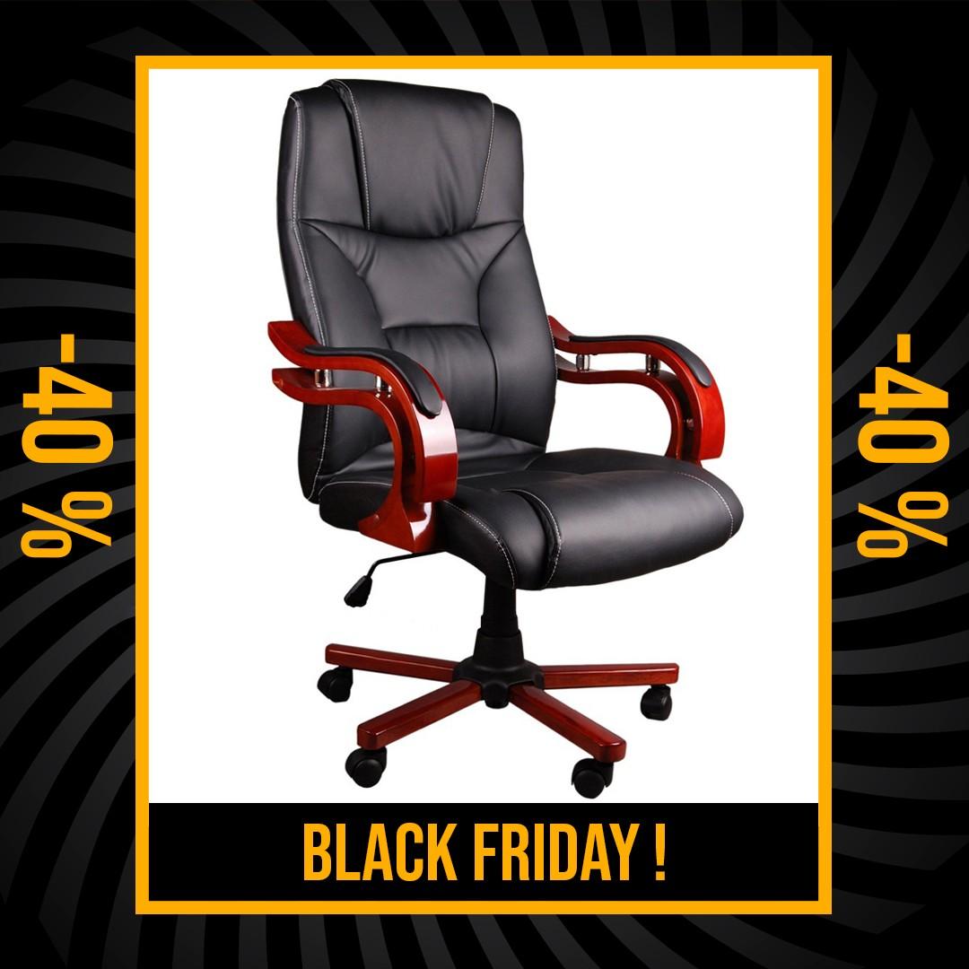 DomTextilu Čierne masážne kreslo na kolieskach s diaľkovým ovládaním Black Friday 34390