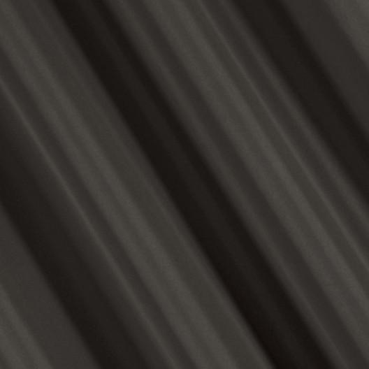 Jednofarebný dekoračný záves v tmavo sivej farbe