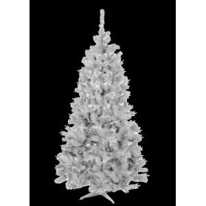 Vianočný stromček v bielej farbe jedľa