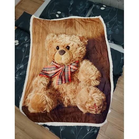 Hrejivá detská deka zabalená v darčekovej krabičke