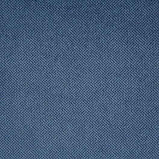 Jednofarebná modrá záves zo zamatu