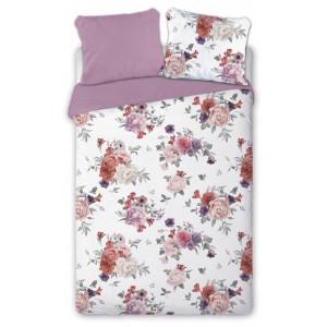 Obojstranné posteľné obliečky s motívom ruží