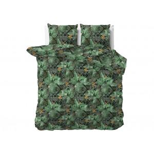 Originálne zelené posteľné obliečky z kolekcie BOTANICAL  200 x 220 cm