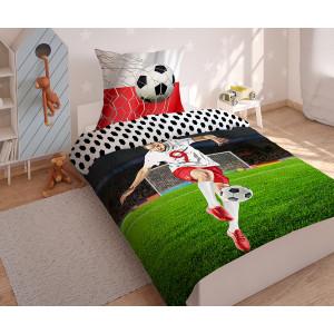 Štýlové chlapčenské posteľné obliečky s motívom footbal