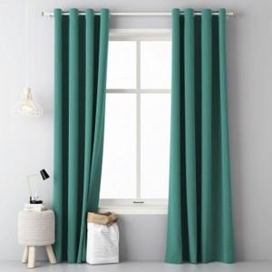 Zelený záves do obývačky v rozmere 140 x 250 cm