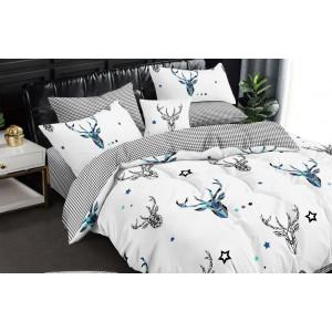 Biele posteľné obliečky so zvieracím motívom