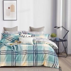 Krásne zelené pohodlné posteľné obliečky