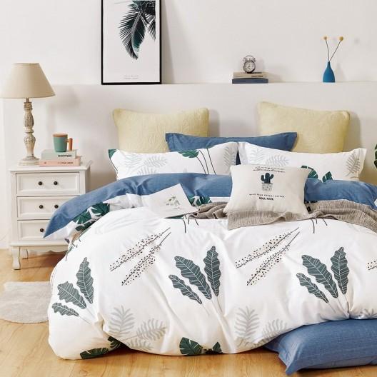 Originálne obojstranné posteľné obliečky s prírodním motívom
