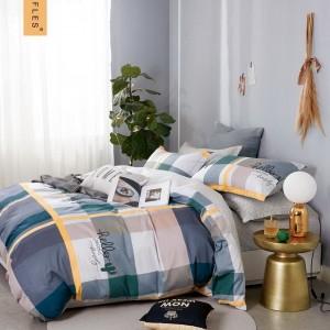 Originálne rôznofarebné obojstranné posteľné obliečky