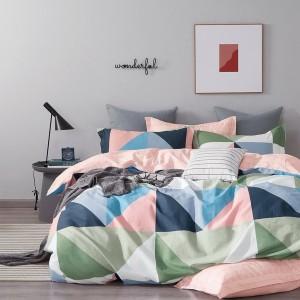 Krásne obojstranné posteľné obliečky s pestrými farbami