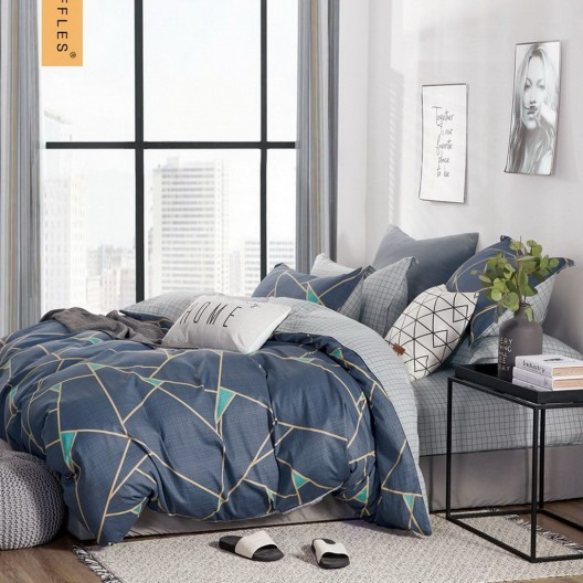 Krásne moderné obojstranné posteľné obliečky