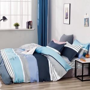 Originálne pohodlné  modré posteľné obliečky