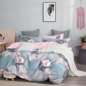 Obojstranné posteľné obliečky s krásnym kvetinovým vzorom