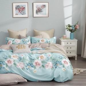 Pohodlné posteľné obliečky s rúžovými kvetmi