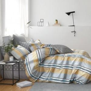 Krásne pohodlné posteľné obliečky v zemitých farbách