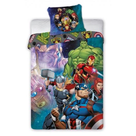 Originálne bavlnené posteľné obliečky pre chlapcov AVANGERS