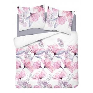Moderné kvetinové posteľné obliečky s nádychom romantiky