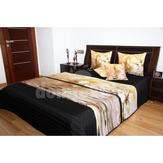 Kvetový prehoz na posteľ 3D 220x240