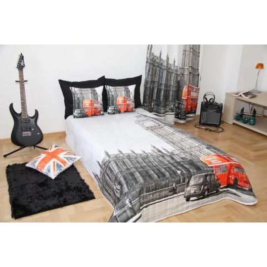 Prehozy na posteľ s motívom Londýn