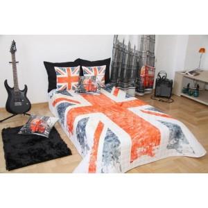 Prehoz na posteľ 3D 160x210cm