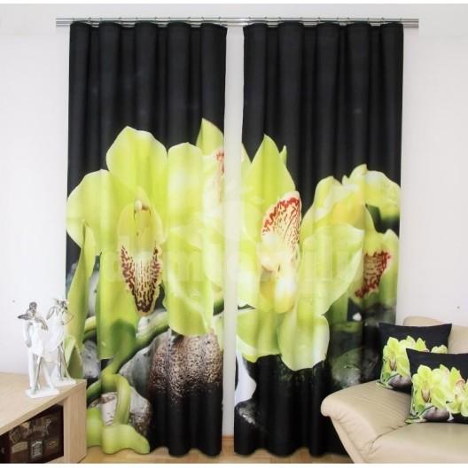 Zelenočierny záves - kvet