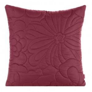 Kvalitná obliečka na vankúš v krásnej malinovo ružovej farbe