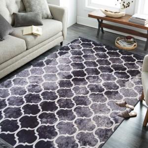 Protišmykový koberec so štýlovým vzorom