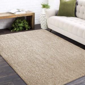 Štýlový koberec v béžovej farbe